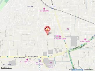 【地図】第70杉フラット