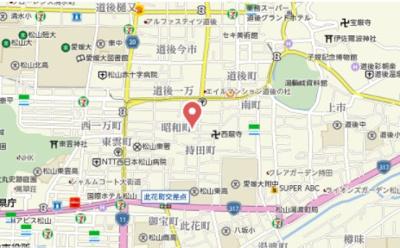 【地図】南町ガーデンハウス