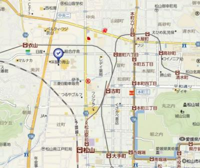 【地図】美沢寿ハイツ