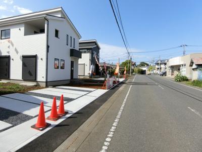【前面道路含む現地写真】稲敷郡阿見町29期