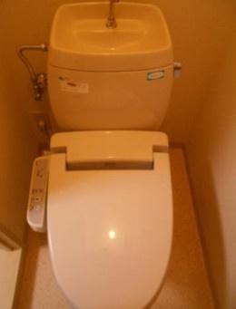 【トイレ】メゾンまつやま・