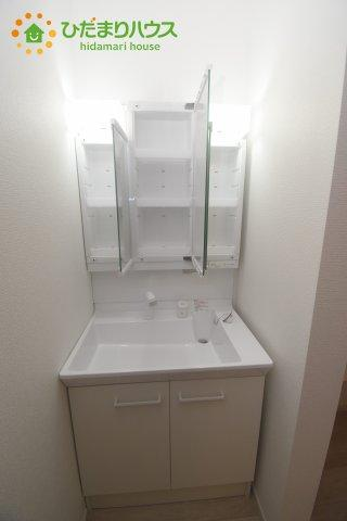 【独立洗面台】桶川市東 1期 新築一戸建て リッカ 01
