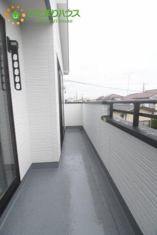 【バルコニー】桶川市東 1期 新築一戸建て リッカ 01