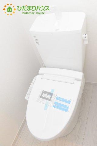 【トイレ】桶川市東 1期 新築一戸建て リッカ 01