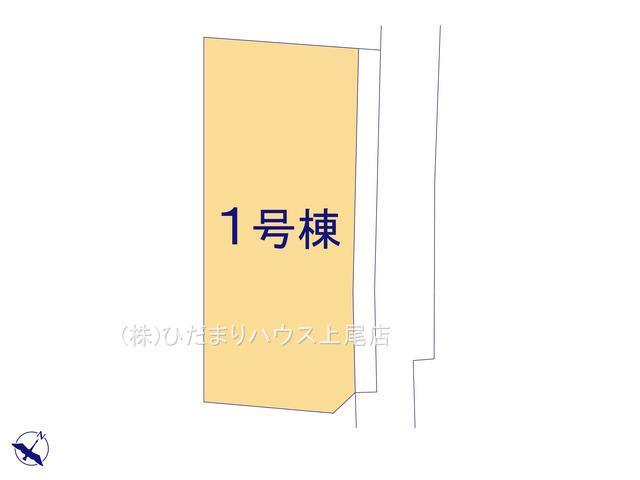 【区画図】桶川市東 1期 新築一戸建て リッカ 01