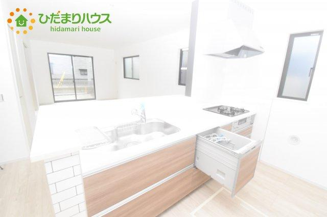 【キッチン】桶川市東 1期 新築一戸建て リッカ 01