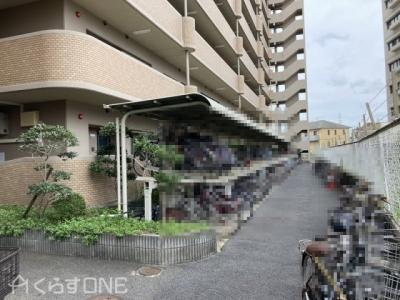 【駐輪場】ライオンズマンション姫路東今宿