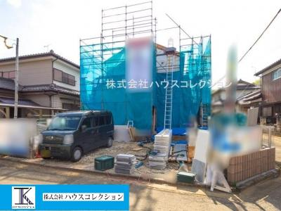 【外観】取手市寺田3期 新築戸建 1号棟