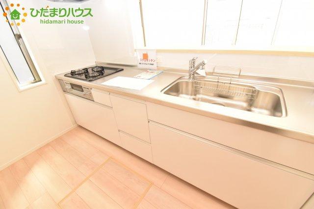 【キッチン】北区別所町 第7 新築一戸建て クレイドルガーデン 02