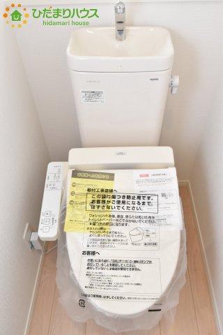 【トイレ】北区別所町 第7 新築一戸建て クレイドルガーデン 02