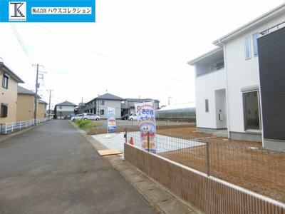 【前面道路含む現地写真】稲敷郡阿見町中央1期
