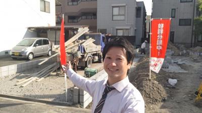 新築ナビゲーター村田です。 お客様の不安に寄り添います。