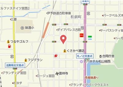 【地図】ヴァレーレ萱町