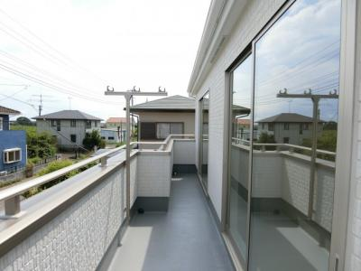 【バルコニー】阿見町阿見5期 新築戸建