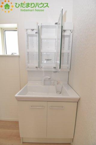 【独立洗面台】鴻巣市南 第1 新築一戸建て クレイドルガーデン 01