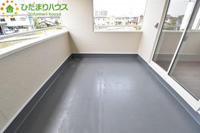 【バルコニー】鴻巣市南 第1 新築一戸建て クレイドルガーデン 01