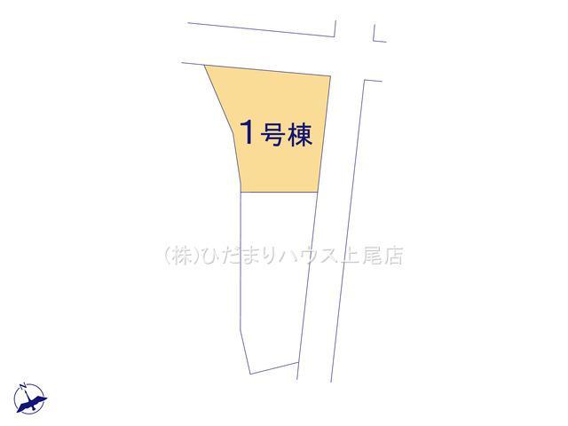【区画図】鴻巣市南 第1 新築一戸建て クレイドルガーデン 01