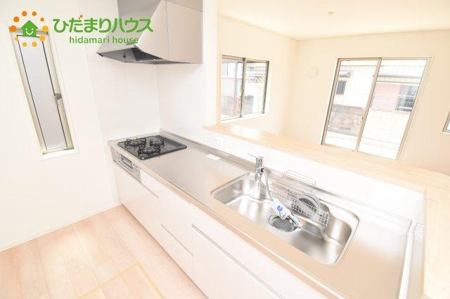 【キッチン】熊谷市久下 第9 新築一戸建て クレイドルガーデン 01