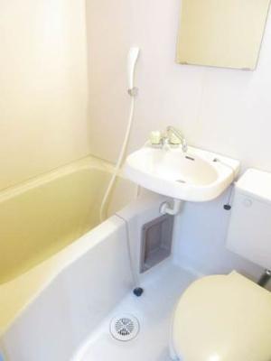 【浴室】カスクハイム1号館