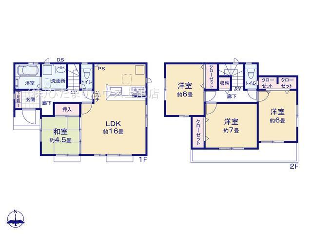 伊奈町栄4丁目 新築一戸建て グラファーレ 01