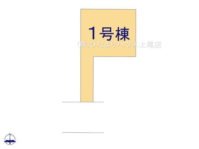 【区画図】伊奈町栄4丁目 新築一戸建て グラファーレ 01