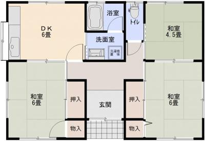 【外観】二宮戸建2号棟(南西)