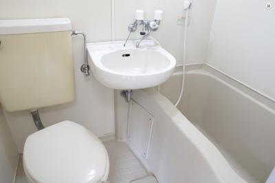 【浴室】ラパンジール今宮