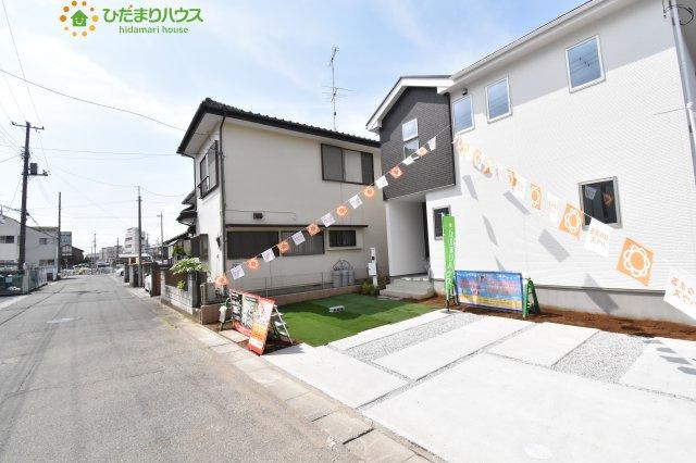 【前面道路含む現地写真】熊谷市久下 2期 新築一戸建て 01
