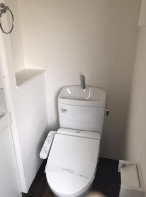 【トイレ】キャステルフォールオノ