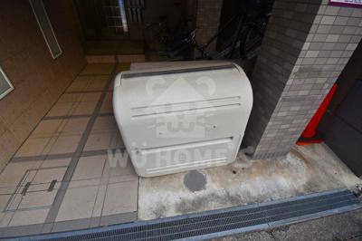 ゴミ置き場宅配ボックス
