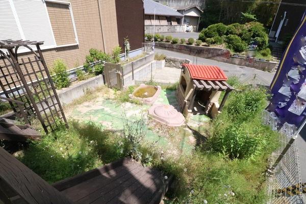 家庭菜園なども楽しめるお庭付き♪