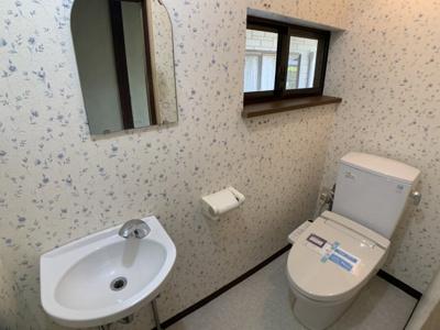 【トイレ】柏原町屋敷貸家