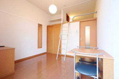 人気のロフトタイプ!お部屋が広々使えて便利です!