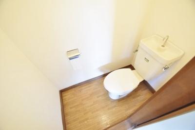 【トイレ】松尾コーポ 北棟