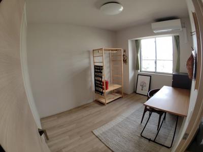 6.5帖洋室 クローゼット収納あり 子供部屋に最適です