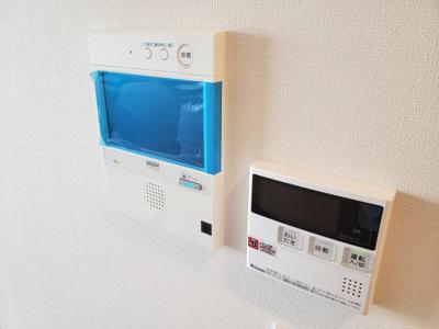 TVモニタ付インターホンで安心 給湯設備