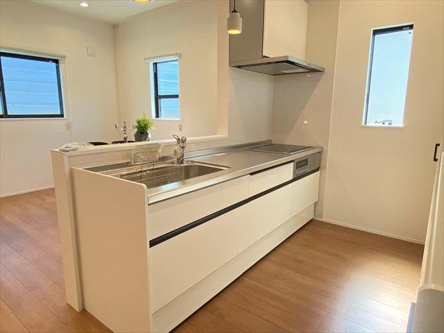 【キッチン】新築一戸建て「小田原市南町」全2棟/残2棟
