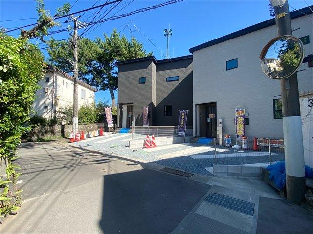 【前面道路含む現地写真】新築一戸建て「小田原市南町」全2棟/残2棟