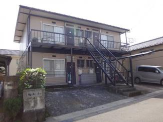 【外観】三島市旭ヶ丘一棟アパート