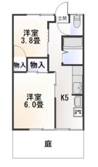 【間取り】三島市旭ヶ丘一棟アパート