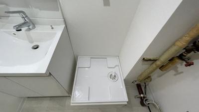 洗濯機防水パン新規交換済み