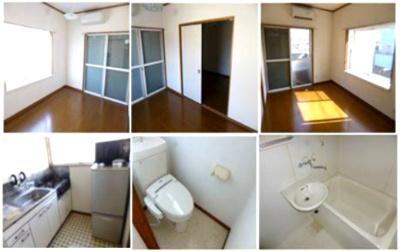 【内装】【一棟売りアパート】満室稼働中◆栃木県下野市