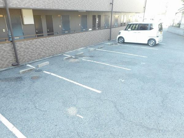 広々駐車場!