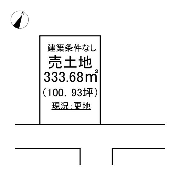 【土地図】中岡町3丁目 売土地