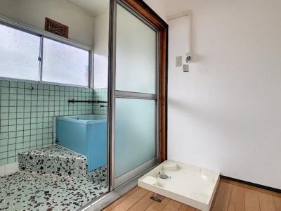 【浴室】後田町中川アパート