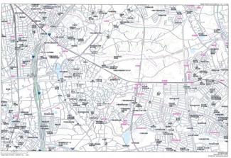 【地図】千葉市中央区生実町 売地 京成千原線「学園前」