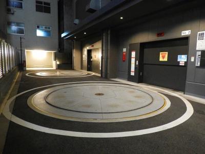 【駐車場】ブランズタワー大阪備後町