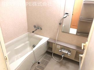 浴室です♪一日の疲れを癒してくれます(^^)
