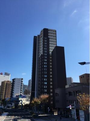 【外観】JR東西線「新福島」駅徒歩3分 大阪市福島区のタワーマンション  BELISTAタワー福島