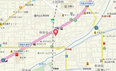 【地図】Chouette Ⅰ